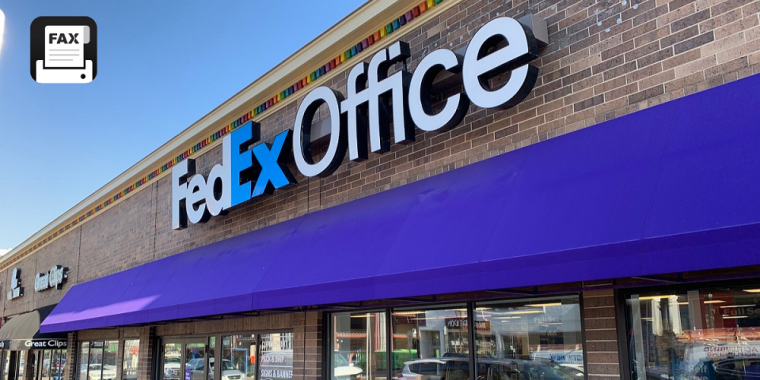 fax at fedex office