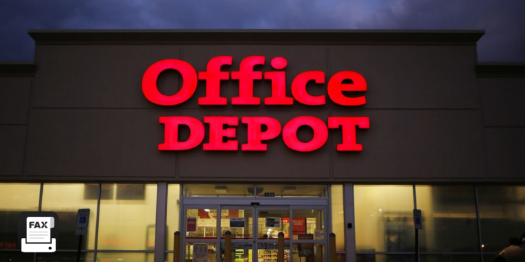 fax from office depot